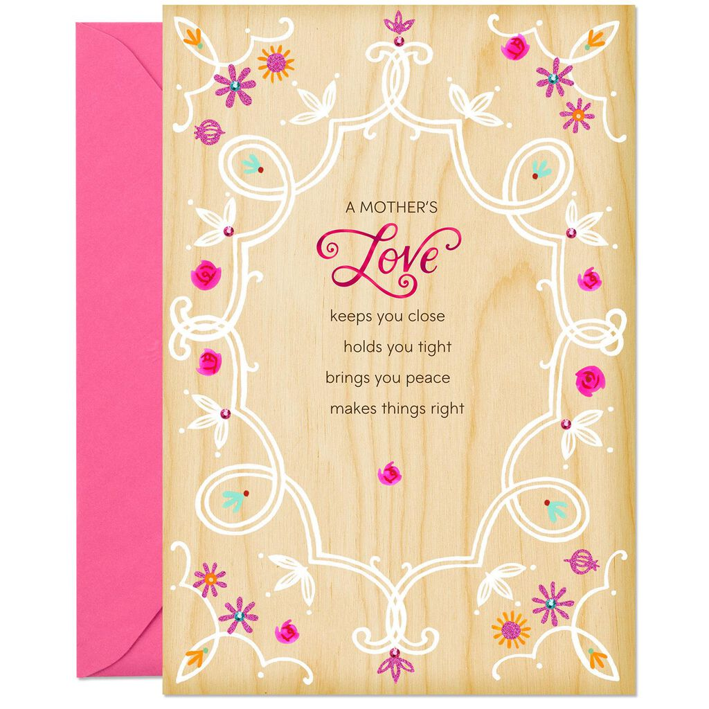 A Mothers Love Birthday Card For Mom