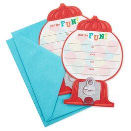 Gumball Machine Invitations, Pack of 10, , large