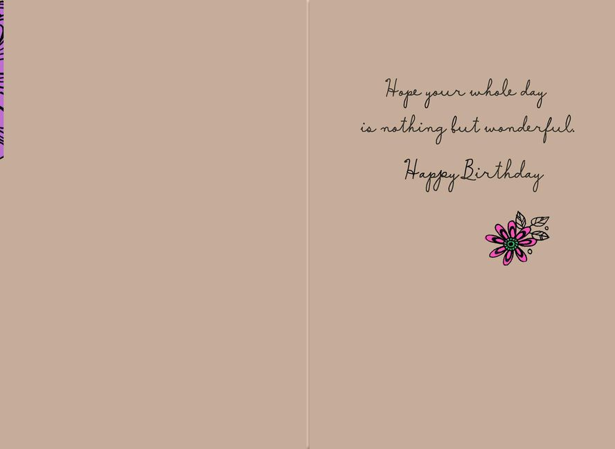 Bold Flowers Birthday Card For Cousin Greeting Cards Hallmark