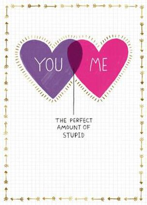 Stupid Love Blank Valentine's Day Card