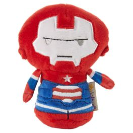 itty bittys® Iron Patriot Stuffed Animal, 2nd in Iron Man Series, , large
