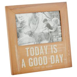 Life is Good® Today Is a Good Day Picture Frame, 4x6, , large