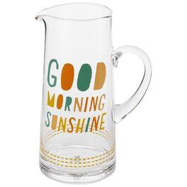 Good Morning Sunshine Pitcher, 63 oz., , large
