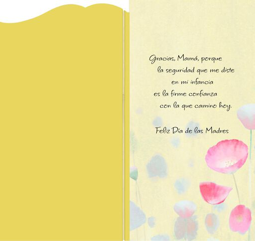 Thank You, Mom Spanish-Language Mother's Day Card,