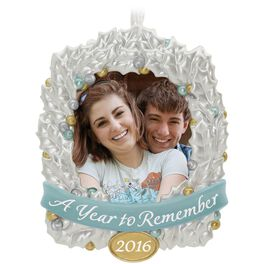 A Year to Remember Photo Holder Ornament, , large
