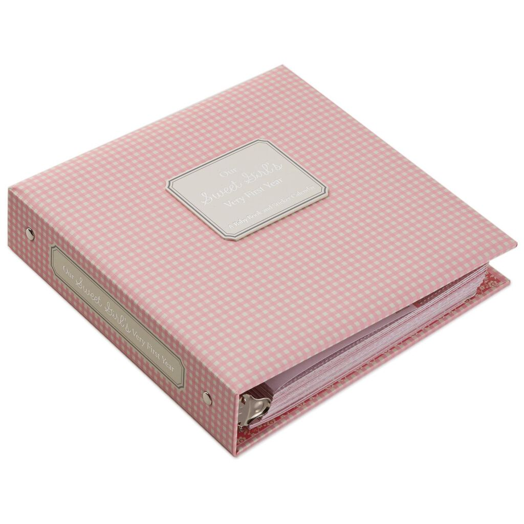 Baby Girls First Year Memory Book Photo Albums Hallmark