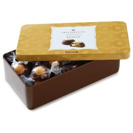 10.5 oz. of Peanut Butter & Chocolate Buckeyes in Gift Tin, , large