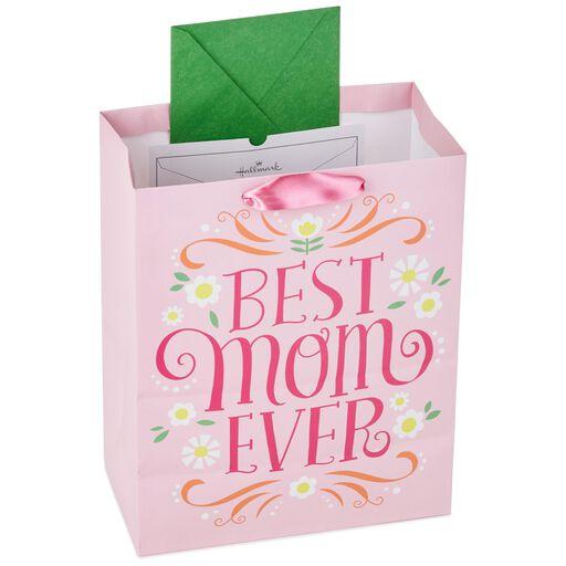 Best Mom Ever Pink Large Gift Bag 13