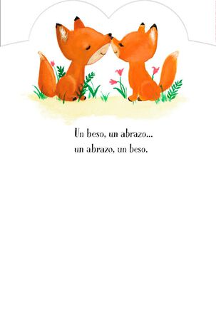 You and Me Spanish-Language Valentine's Day Card