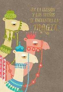 Hopes and Dreams Spanish-Language Christmas Card,