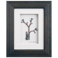 Sharon Nowlan Birds Of A Feather Pebble Wall Art 8x10