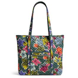Vera Bradley Iconic Vera Tote Bag in Falling Flowers, , large