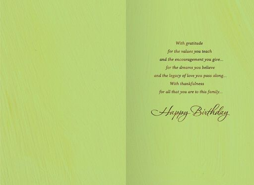 A Father's Love Birthday Card,