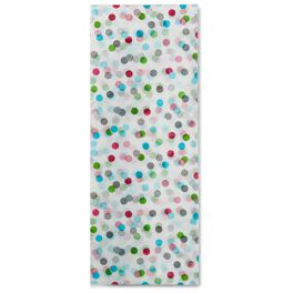 Confetti Dots Tissue Paper, 6 sheets, , large
