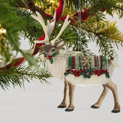 ea5f0f2ea Father Christmas's Reindeer Ornament, Father Christmas's Reindeer Ornament,