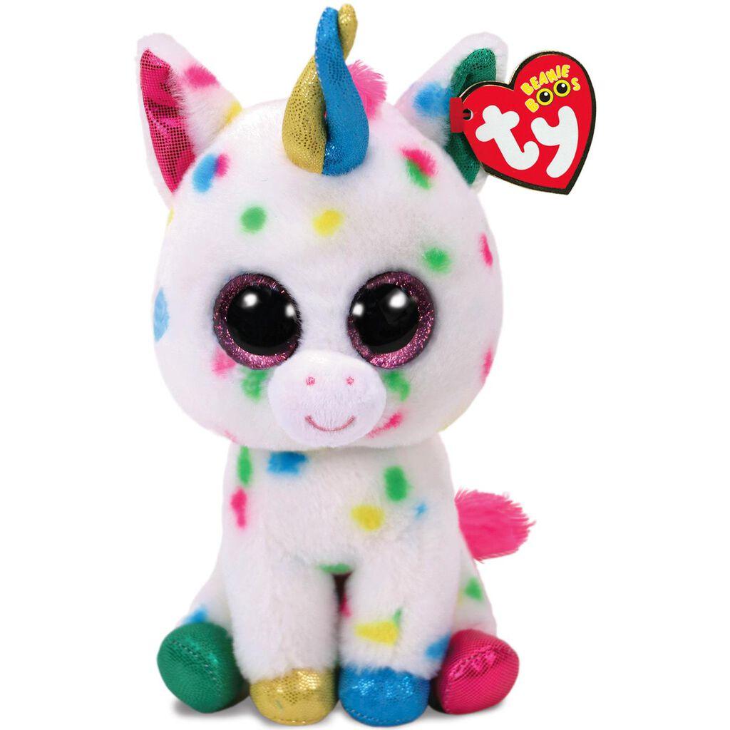 a5a00cb56bc Ty® Beanie Boos Small Harmonie Speckled Unicorn Stuffed Animal