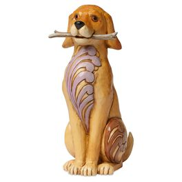 Jim Shore® Brewster the Dog With Stick Figurine, , large