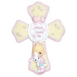 Precious Moments® Jesus Loves Me Cross for Girl, , large