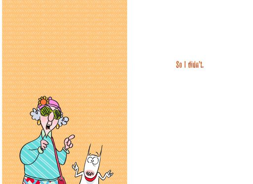 MaxineTM Youre Tough To Shop For Funny Birthday Card