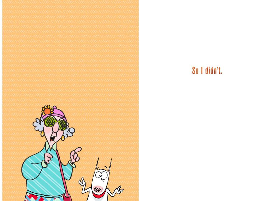 Maxine Youre Tough To Shop For Funny Birthday Card Greeting