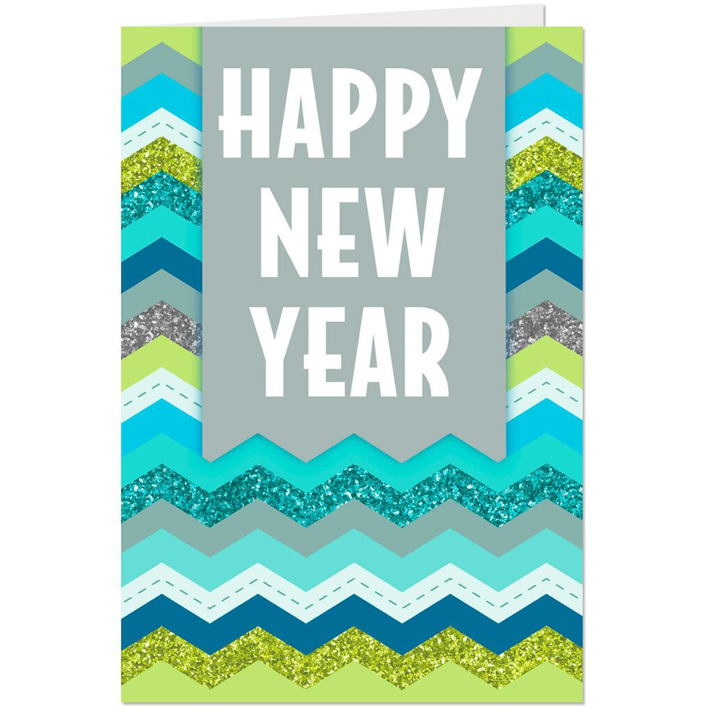 good luck and good health new year cards