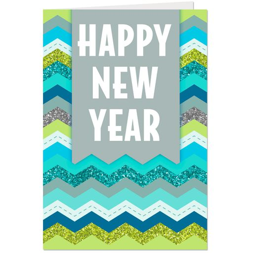 good luck and good health new year cards pack of 6
