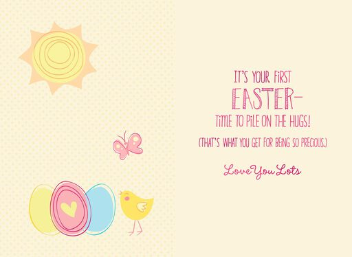 Looney Tunes™ Tweety™  Pile on the Hugs Easter Card for Granddaughter,