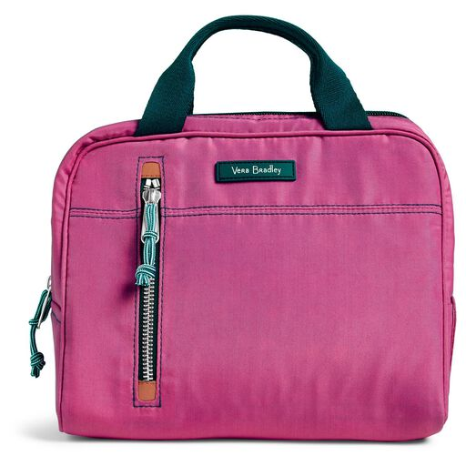 a11f87ace1ab ... Vera Bradley Lighten Up Lunch Cooler in Bright Orchid