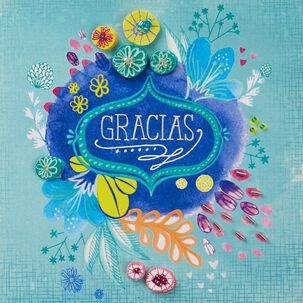 ¡No Hay Palabras Suficientes! Spanish Language Thank You Card