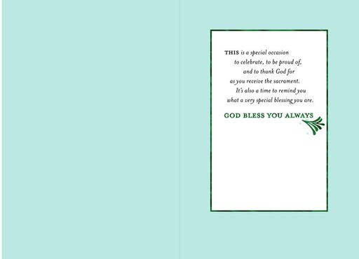 For a Special Boy First Communion Card,