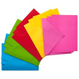 Assorted Rainbow Colors Multipack Blank Notes, Box of 200, , large