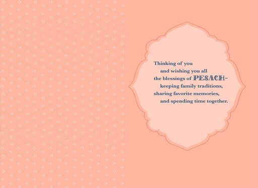 For a Special Daughter and Her Family Passover Card,