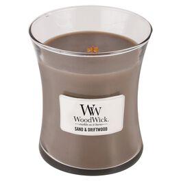 WoodWick® Medium Candle, Sand & Driftwood, , large