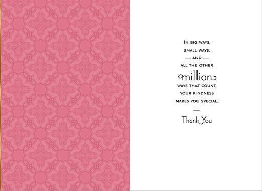 You Go the Extra Mile Thank You Card,