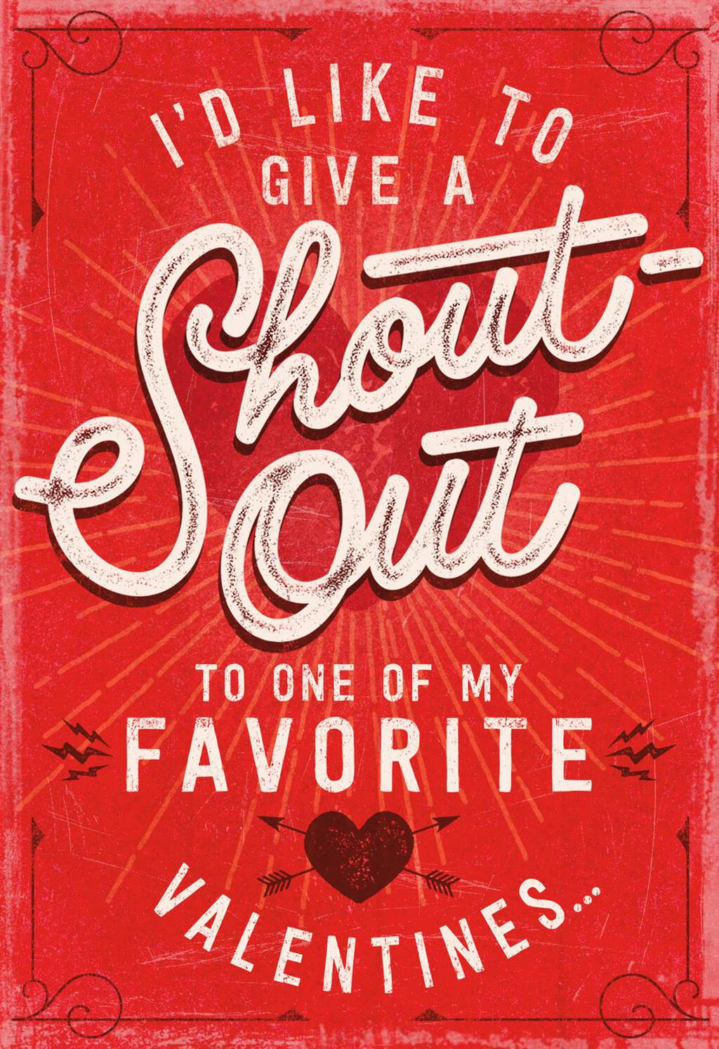 Shout out recordable valentines day card greeting cards hallmark m4hsunfo
