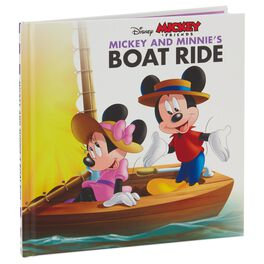 Mickey and Minnie's Boat Ride: A Story About Friendship Book, , large