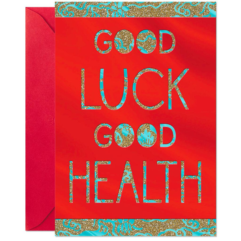 good health lunar new year card