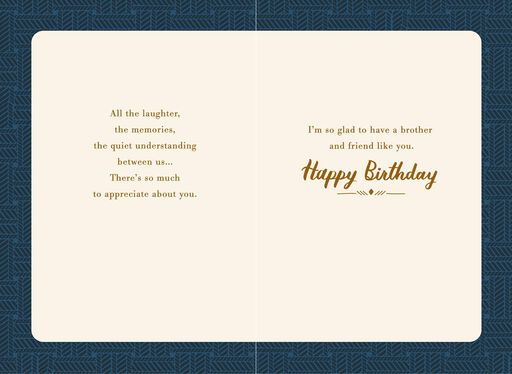 Friend You Never Outgrow Birthday Card For Brother