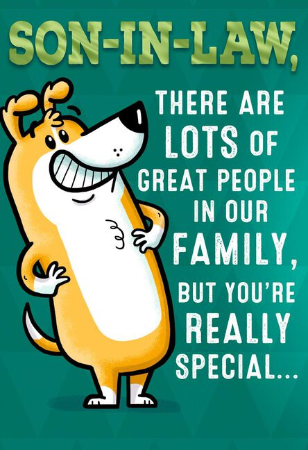 Youre Special Funny Birthday Card For Brother In Law Greeting