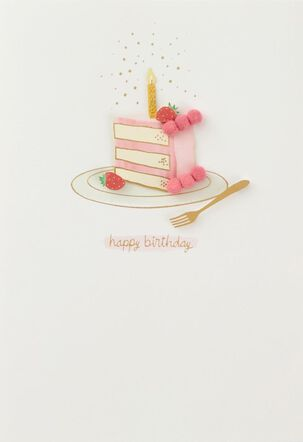 Treat Yourself Money Holder Birthday Card