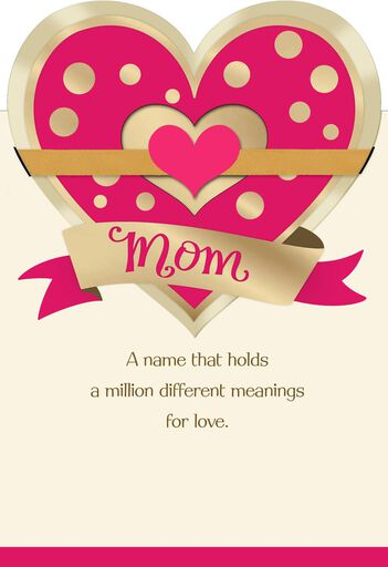 Unicef Floral Bird Valentine S Day Card For Mom Greeting Cards