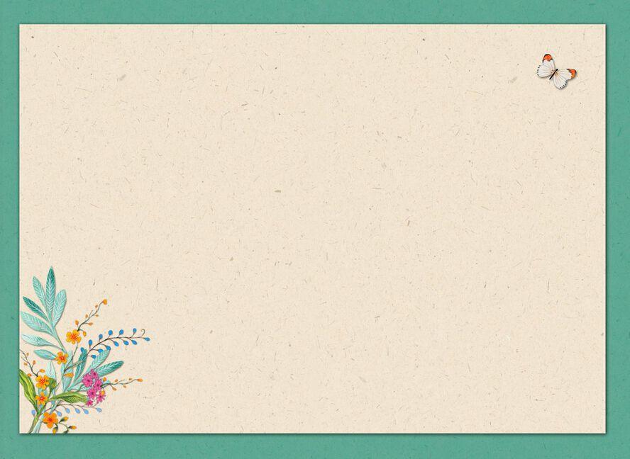 Merci Bouquet Blank Thank You Card Greeting Cards Hallmark
