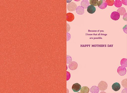 Singing in My Heart Religious Musical Mother's Day Card,