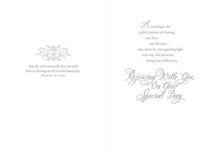 7c82b7056 Sharing One Love Wedding Card,