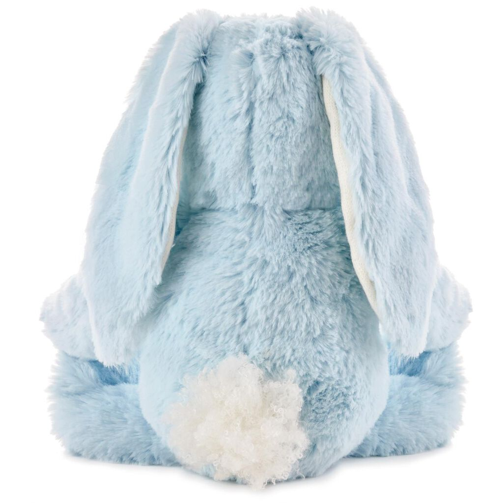 Blue Bunny Stuffed Animal With Chime 9 Baby Toddler Toys
