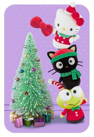 Hello Kitty® Child Christmas Card