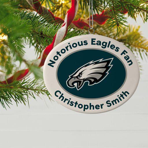 ... NFL Football Philadelphia Eagles Ceramic Personalized Ornament 7a2e8ddb4