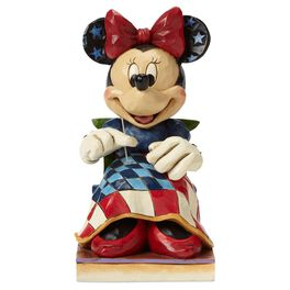 Jim Shore® American Old Glory Minnie Mouse Figurine, , large