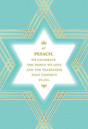 Star of David Passover Card