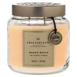 Crafters & Co. Mango Beach Candle, 16-oz, , large